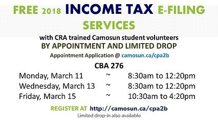 Free Income Tax Services
